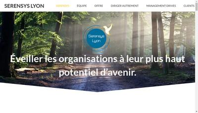 Site internet de Serensys