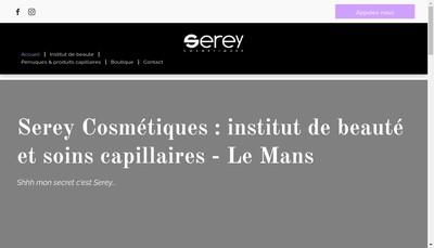 Site internet de Serey