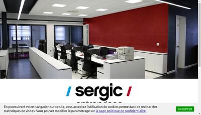Site internet de Sergic Entreprises