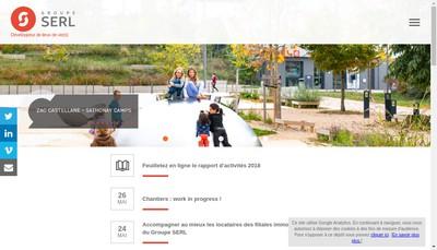 Site internet de Serl@Energies