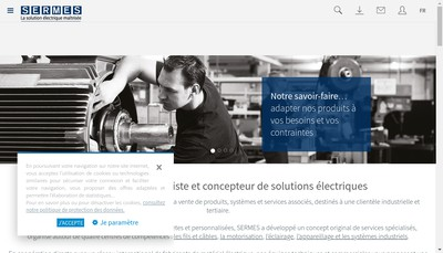 Site internet de Sermes