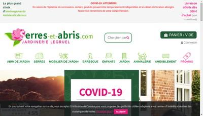 Site internet de Jardinerie Legruel
