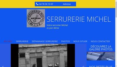 Site internet de Serrurerie Michel