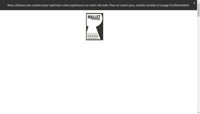 Site internet de A Lepretre - Mallet Serrurerie