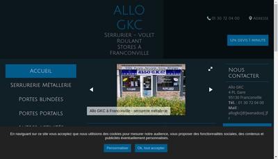 Site internet de Allo Gkc !