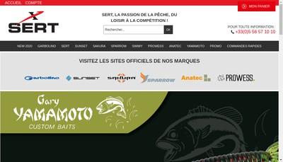 Site internet de SA Sert