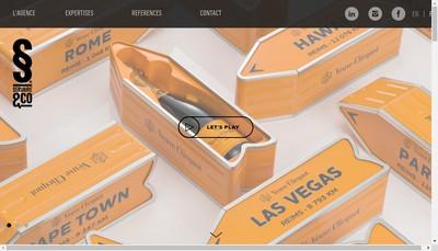Site internet de Servaire & Co