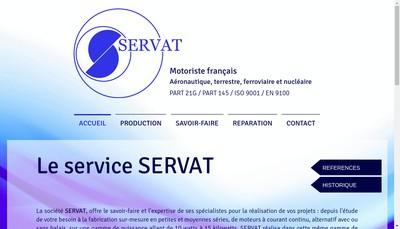 Site internet de Servat