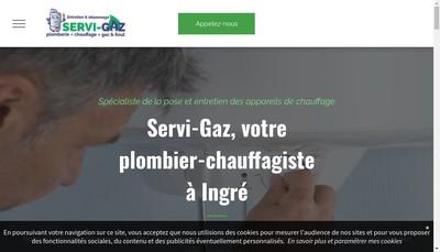 Site internet de Servi-Gaz
