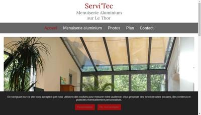 Site internet de Servi'Tec