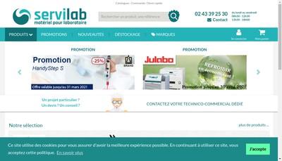 Site internet de Lab-Online