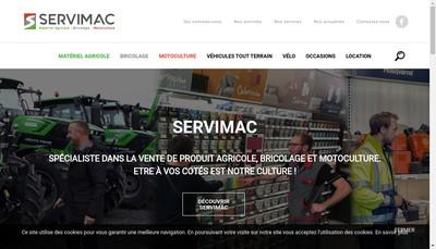 Site internet de Service Agri Vendee