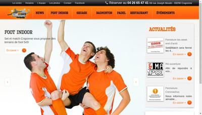Site internet de Set et Match Craponne