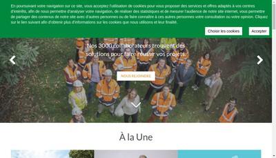 Site internet de Setec Its