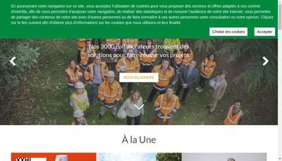 Site internet de Setec Organisation