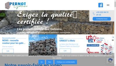 Site internet de Societe Exploit et de Trpts Pernot