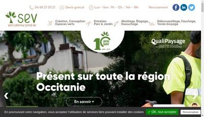 Site internet de SEV