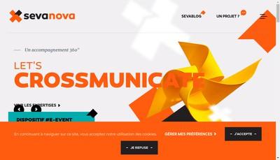 Site internet de Sevanova