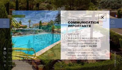 Site internet de Societe Nouvelle de Restauration l'Olivier