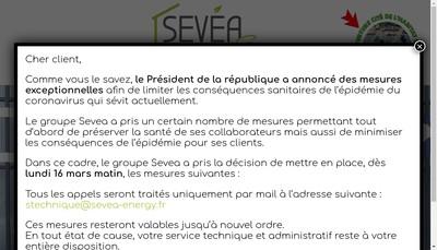 Site internet de Sevea Energy