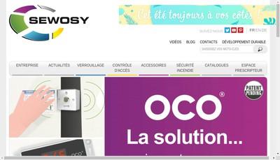 Site internet de Sewosy