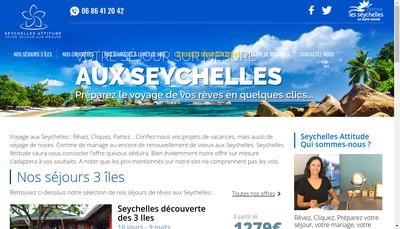 Site internet de Provence et Evasions