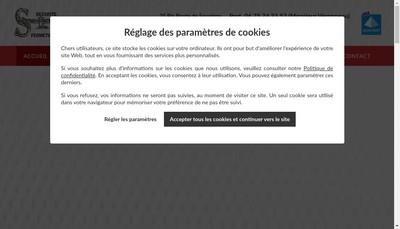 Site internet de Sf Automatismes