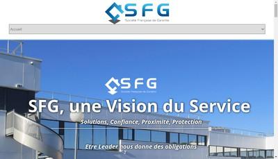Site internet de Societe Francaise de Garantie