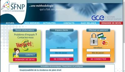 Site internet de Societe Fiduciaire Nord Picardie