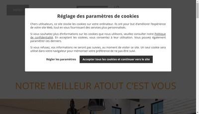 Site internet de Sg Concept