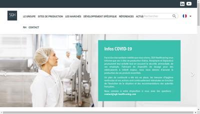Site internet de Eskiss Packaging