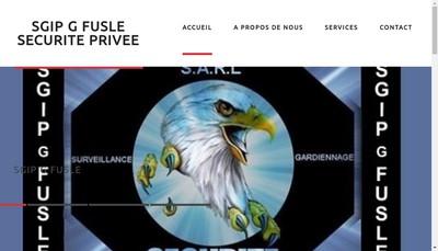 Site internet de Sgip G Fusle