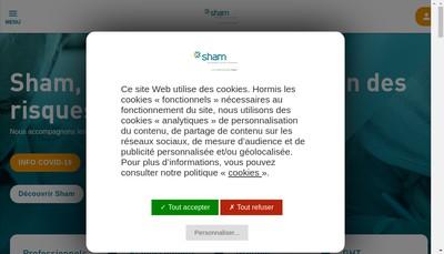 Site internet de Sham Vie