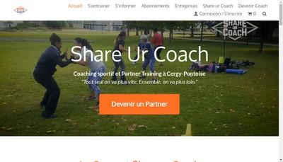 Site internet de Share Ur Coach