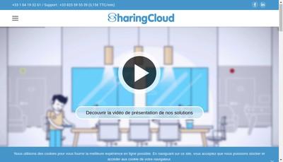 Site internet de Sharingcloud