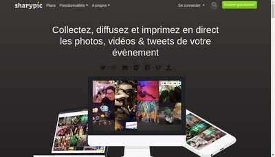 Site internet de Sharypic