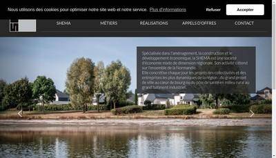 Site internet de Societe Herouvillaise d'Economie Mixte pour l'Amenagement