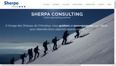 Site internet de Sherpa Developpement