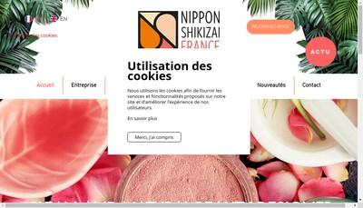 Site internet de Orleans Cosmetics