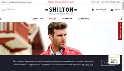 Site internet de Boutique Shilton