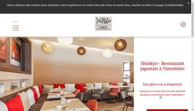 Site internet de Shinkyo