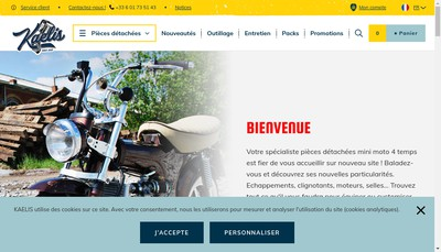 Site internet de Kaelis