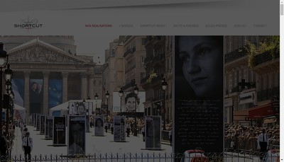 Site internet de Short Cut