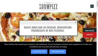 Site internet de Show Pizz