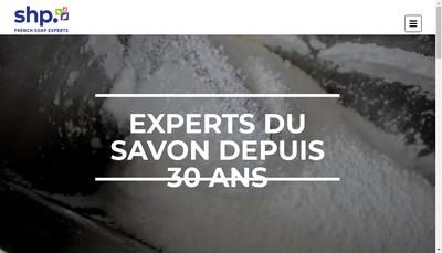 Site internet de Savonnerie de Haute Provence
