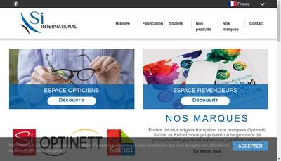 Site internet de Si International