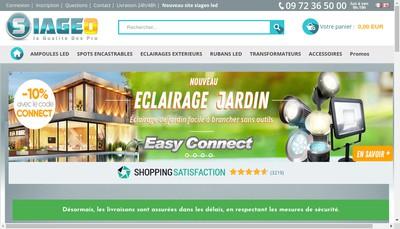 Site internet de Siageo