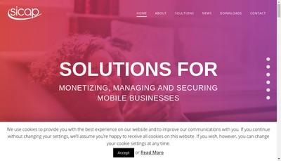 Site internet de Sicap France