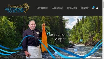 Site internet de Fumage Artisanal du Sichon
