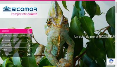 Site internet de Sicomor